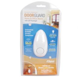 Door Guard Alarm 98db with Flashlight
