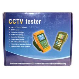 CCTV Tester 2.8 Inch LCD Screen, DC Output.